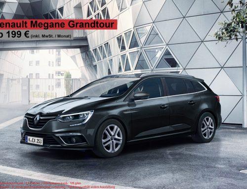 Top Deal! Renault Megane Grandtour für 199 EUR brutto