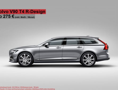 Hammer Deal!!! Der Volvo V90 T4 GEARTRONIC R-DESIGN ab 275€ netto!